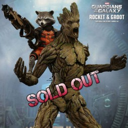 Rocket & Groot - Guardians of the Galaxy - 1/6 Scale