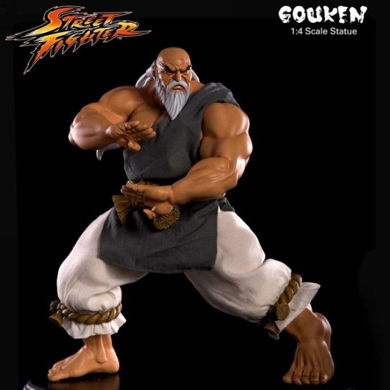 Gouken - Street Fighter - 1/4 Scale Statue