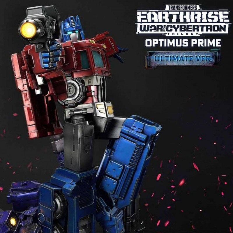 Optimus Prime Ultimate Version - Transformers: War for Cybertron Trilogy - Polystone Statue
