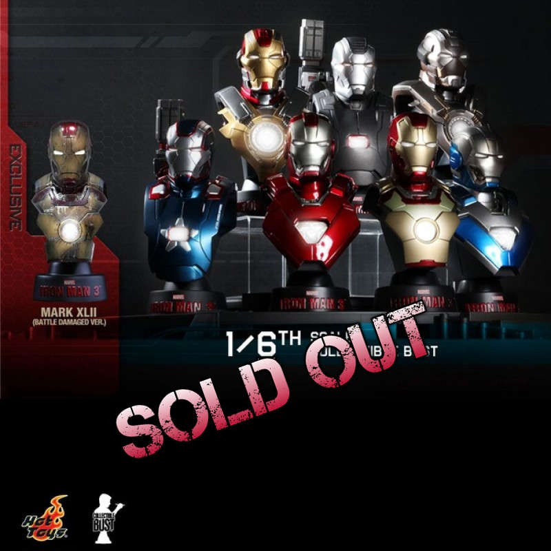 Iron Man 3 - Collectible Bust Set - 1/6 Scale