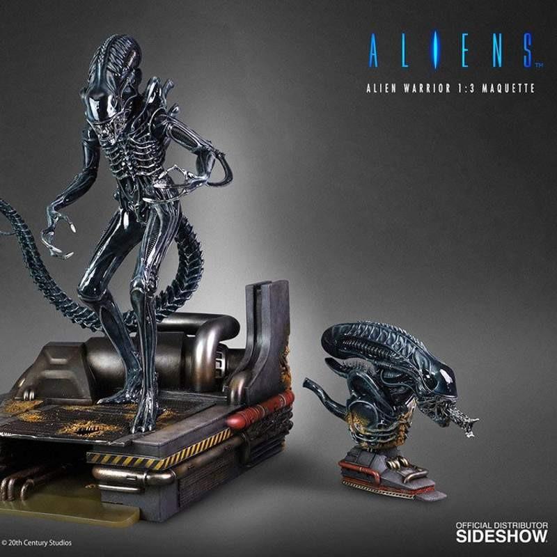 Alien Warrior Deluxe Version - Alien - 1/3 Maquette