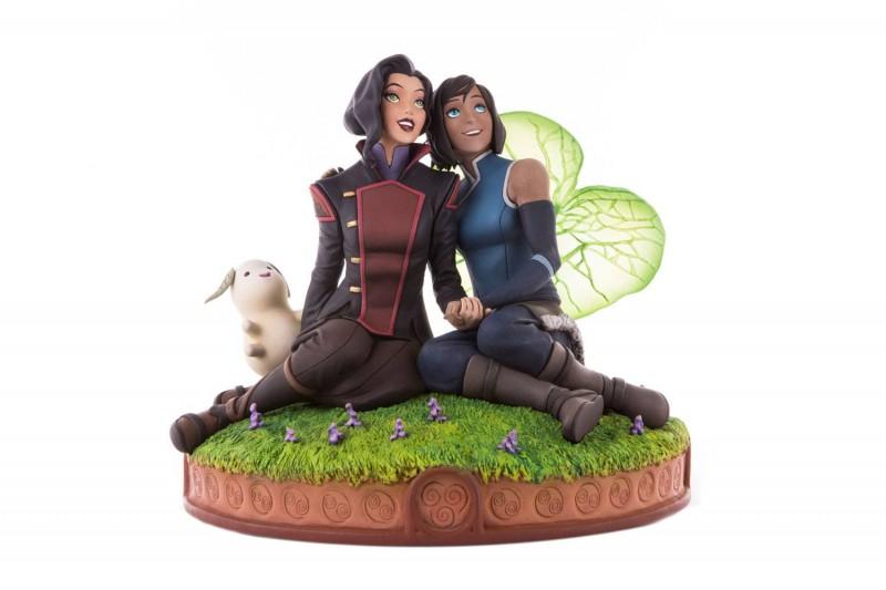 Korra & Asami in the Spirit World - Die Legende von Korra - Polystone Statue