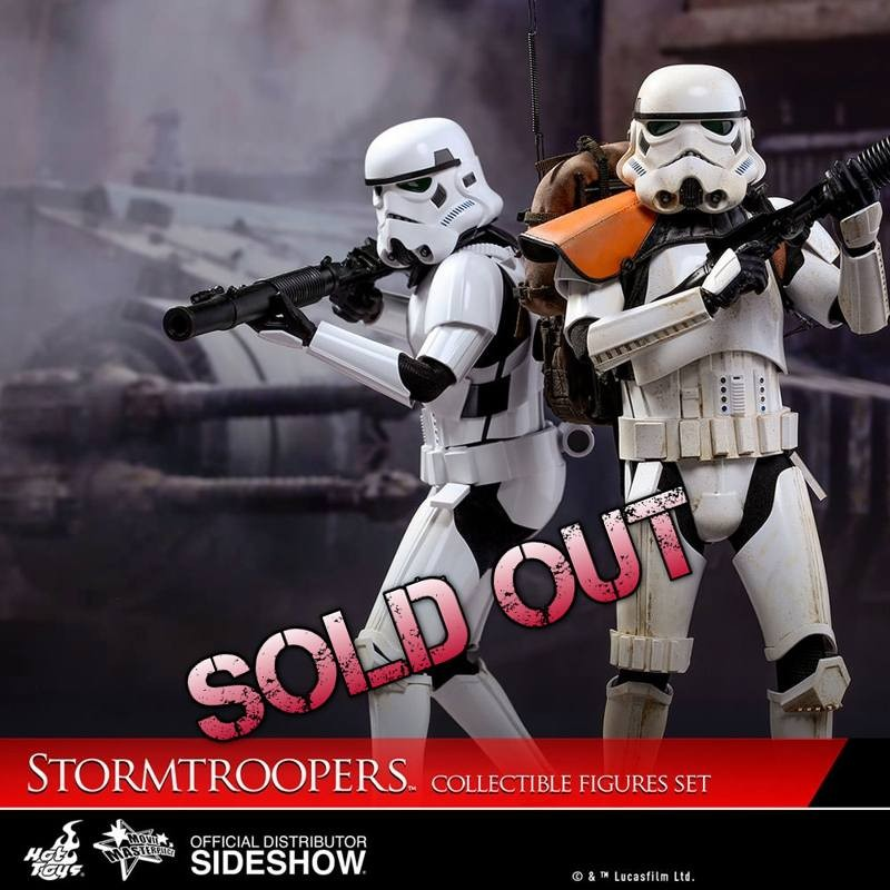 Stormtroopers - Rogue One: A Star Wars Story - 1/6 Scale Figurenset