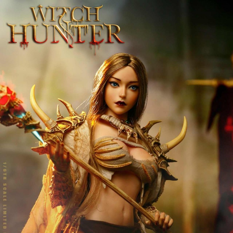Bloody Shaman Aphaia White Shaman - Witch Hunter- 1/6 Scale Actionfigur