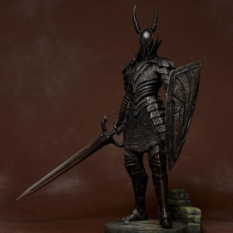 Kurokishi The Black Knight - Dark Souls - 1/6 Scale Statue
