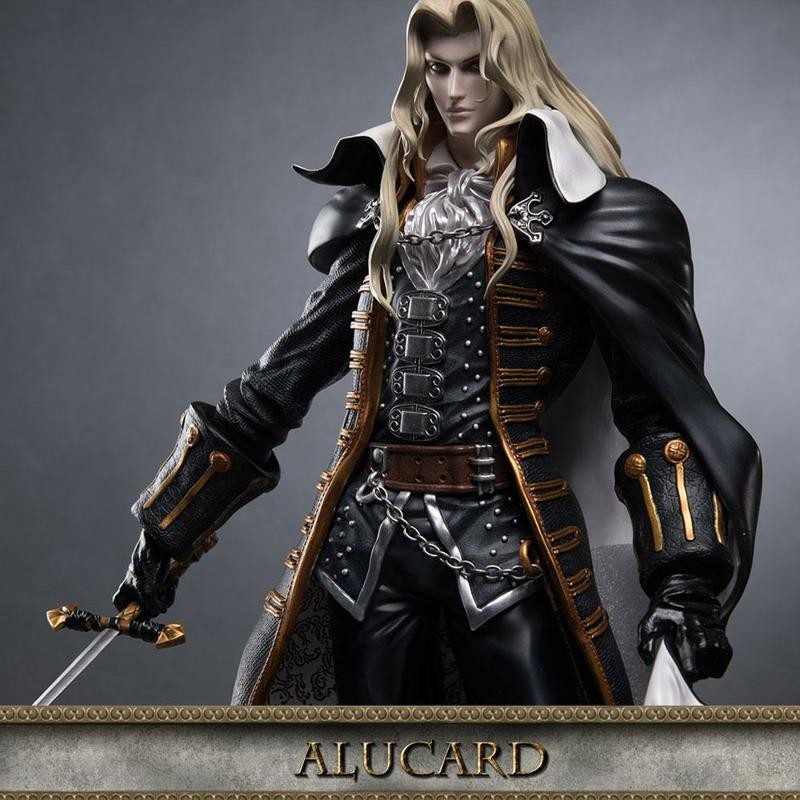 Alucard - Castlevania - Polystone Statue