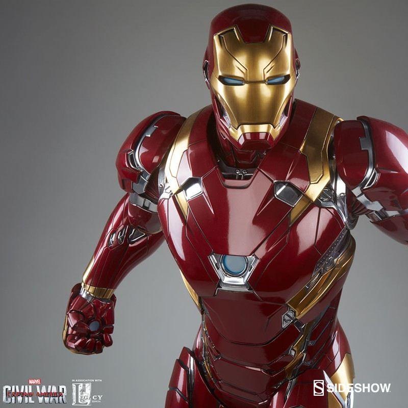 Iron Man Mark XLVI - Legendary Scale Statue