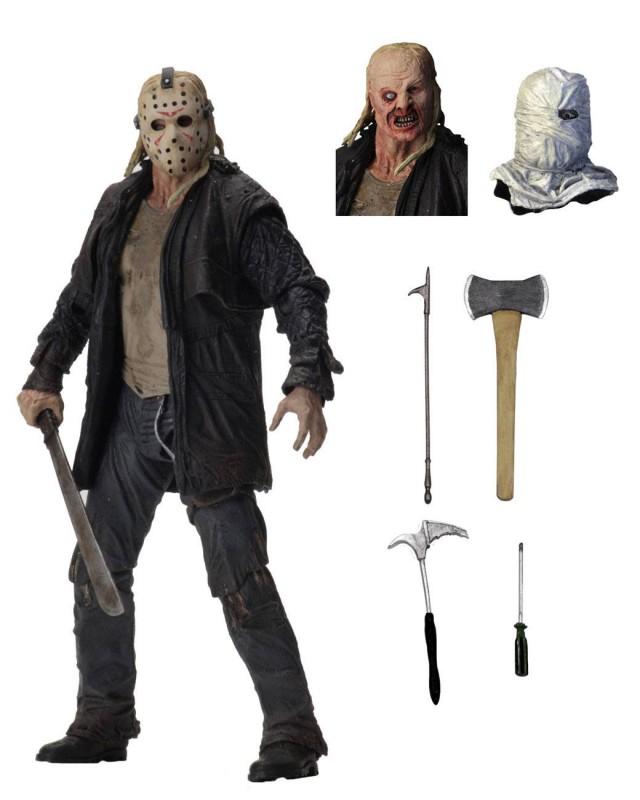 Jason - Freitag der 13. - Ultimate Actionfigur 18cm