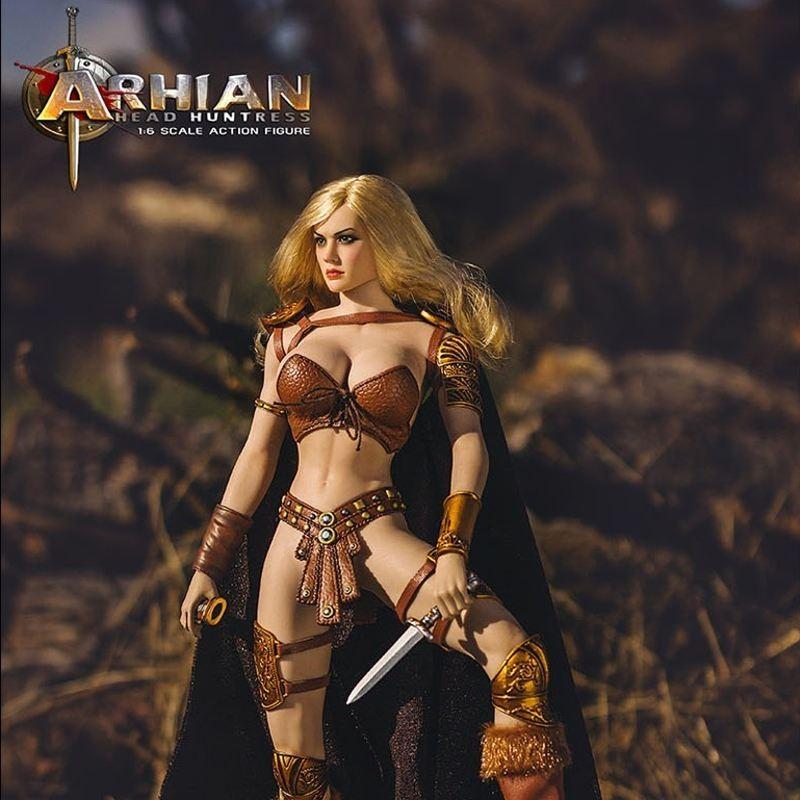 Arhian Head Huntress - 1/6 Scale Actionfigur