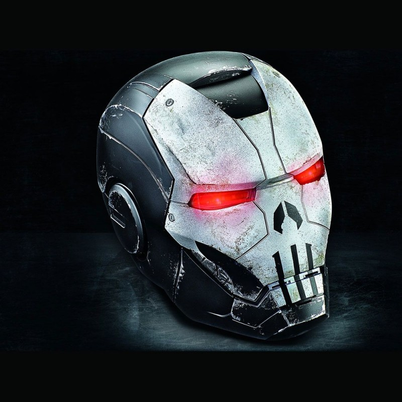 Elektronischer Punisher War Machine (Marvel Future Fight) Helm