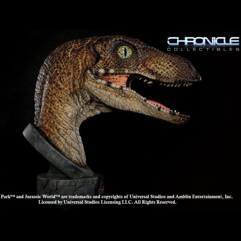 Velociraptor - Jurassic Park - 1/1 Scale Büste