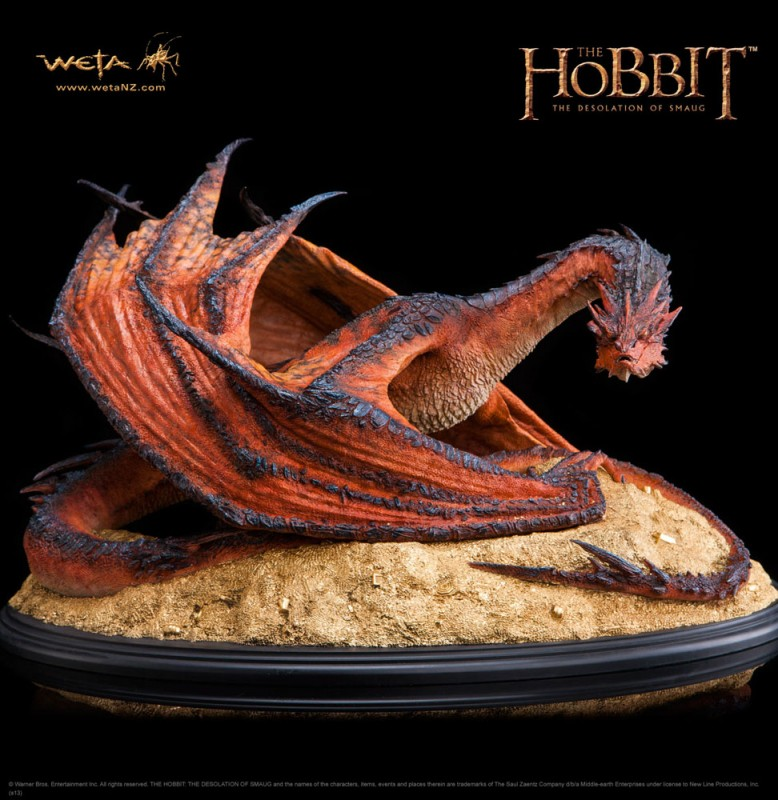Smaug The Terrible - Der Hobbit - Statue 52 cm