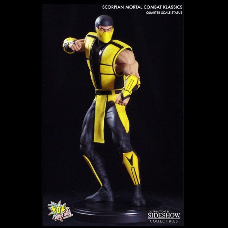 Klassic Scorpion - Mortal Kombat - 1/4 Scale Statue