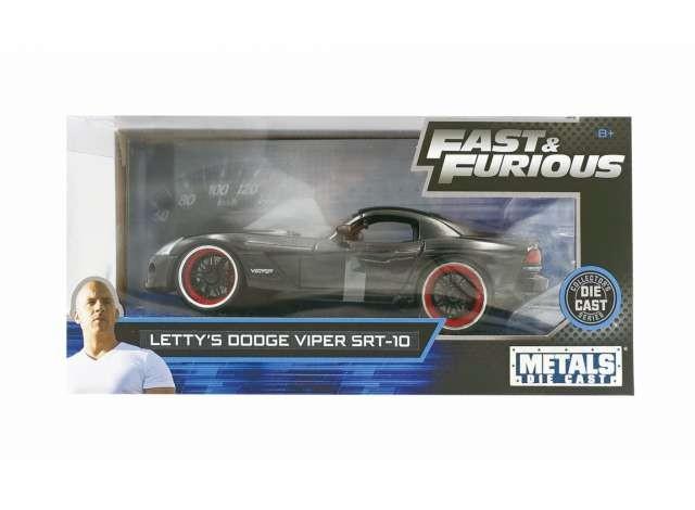 Lettys Dodge Viper SRT-10 - Fast & Furious - Diecast Modell 1/24