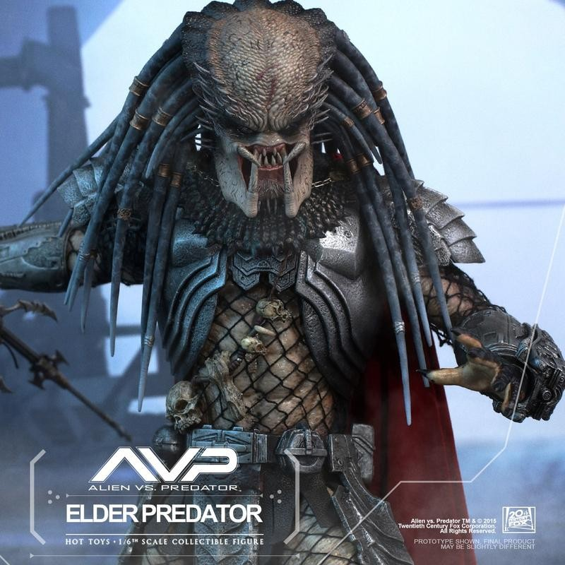 Elder Predator - AVP - 1/6 Scale Action Figur