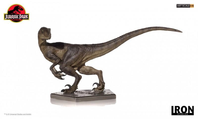 Velociraptor - Jurassic Park - 1/10 Art Scale Statue