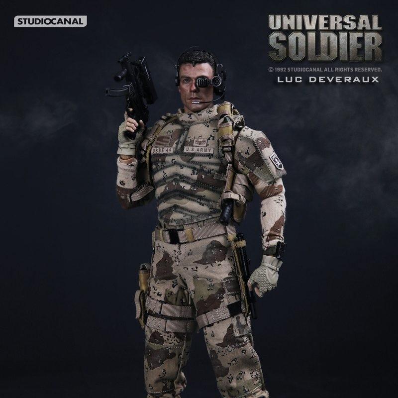 Luc Deveraux - Universal Soldier - 1/6 Scale Figur