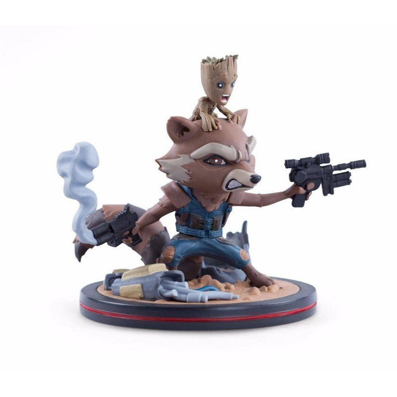 Rocket & Groot LC Exclusive - Guardians of the Galaxy- Q-Figur 14cm