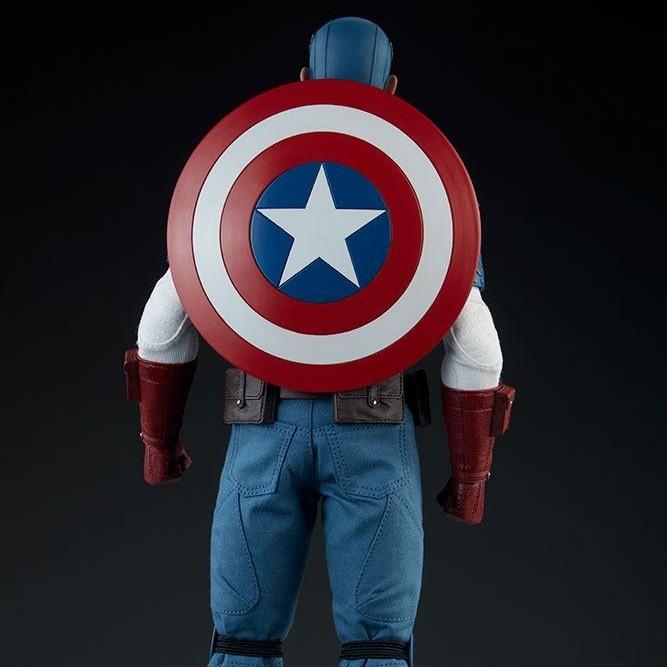 Captain America - Marvel Comics - 1/6 Scale Actionfigur