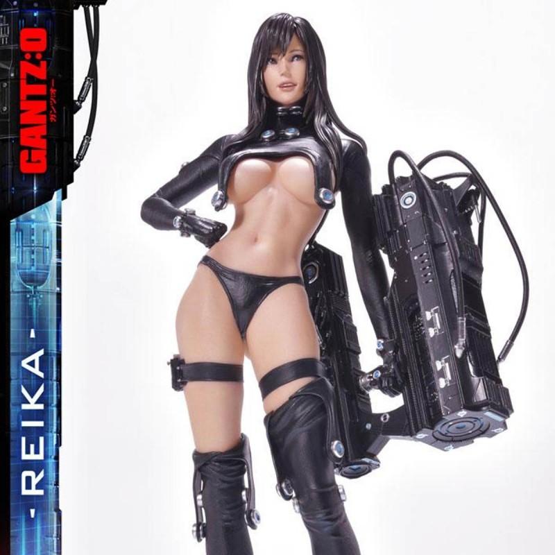 Reika Black Edition - Gantz:O - 1/4 Scale Polystone Statue
