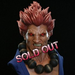 Akuma - Street Fighter - 1/1 Scale Bust