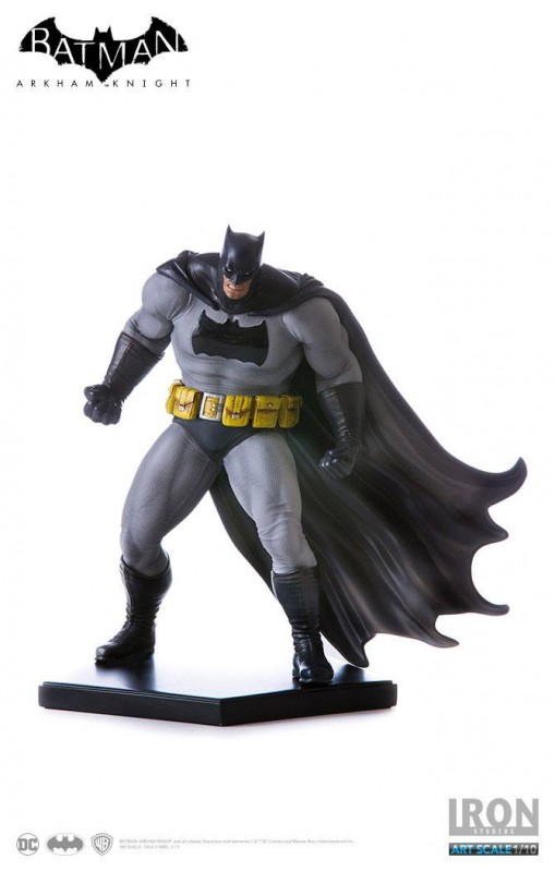 Batman DLC Series Dark Knight (Frank Miller) - Batman Arkham Knight - 1/10 Scale Statue