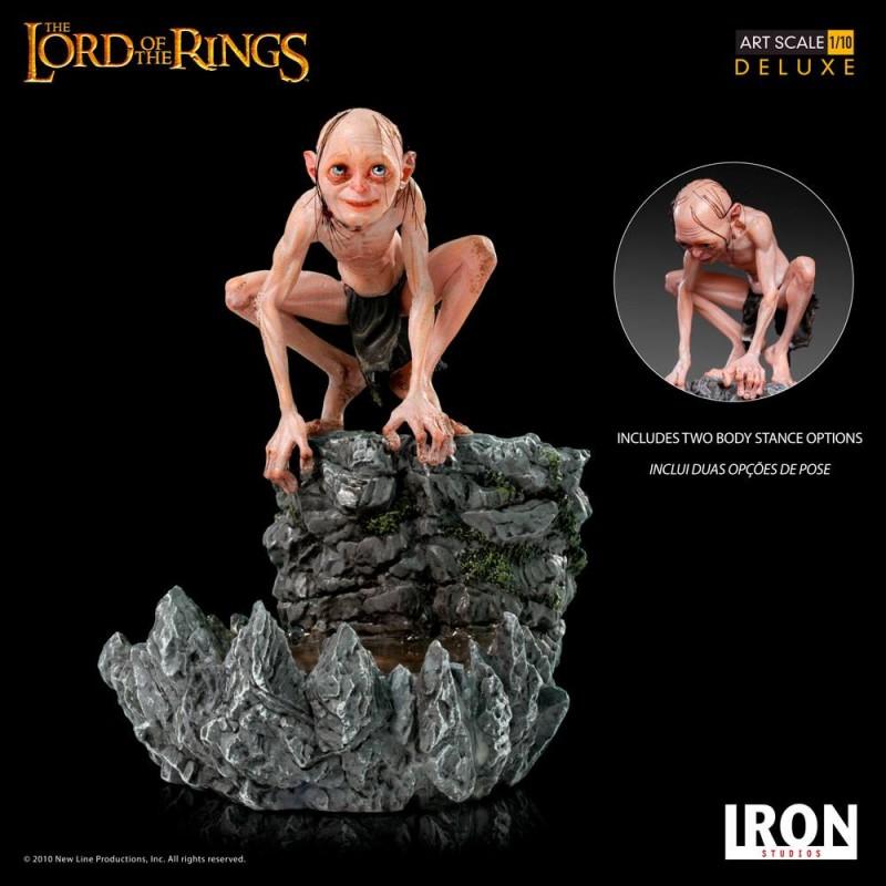 Gollum - Herr der Ringe - Deluxe Art Scale 1/10 Statue