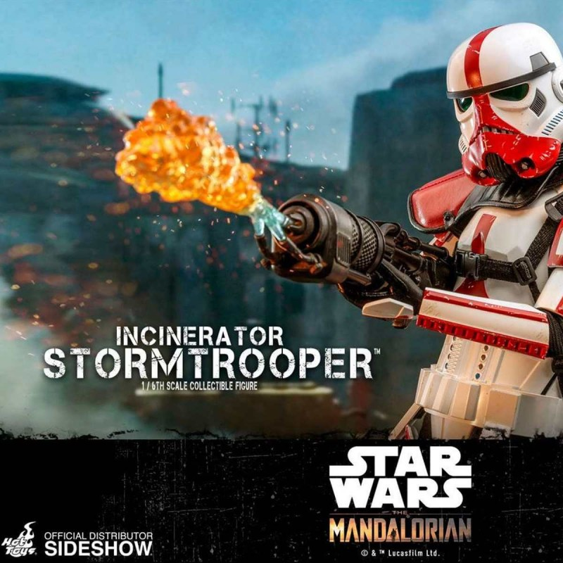 Incinerator Stormtrooper - Star Wars The Mandalorian - 1/6 Scale Figur