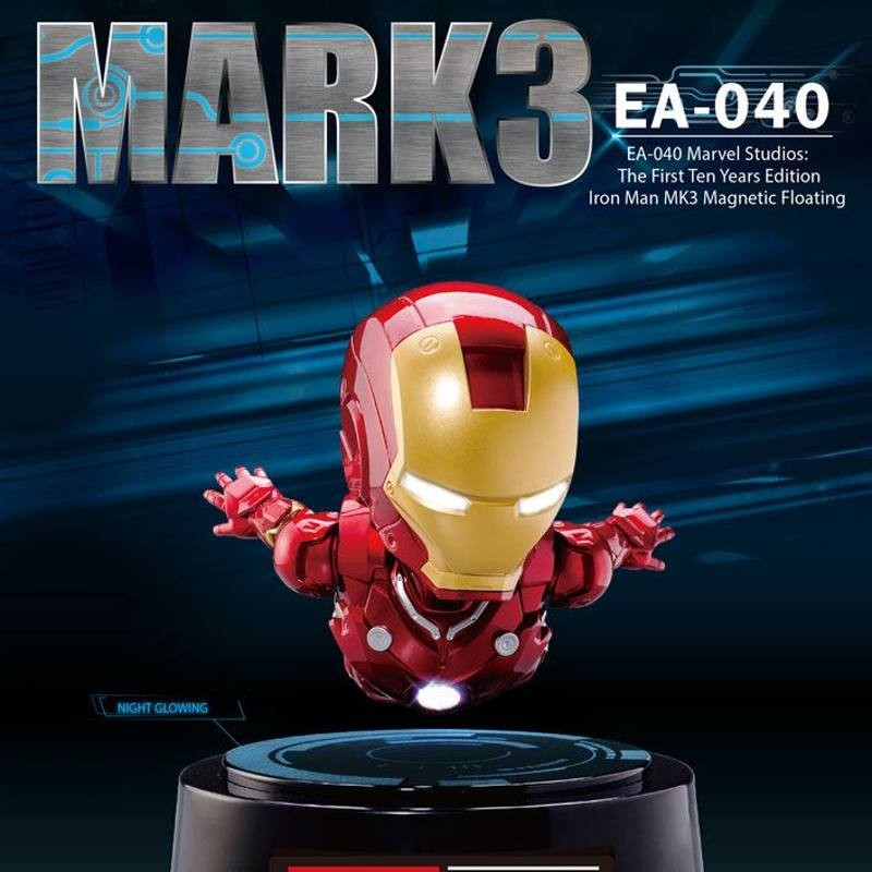 Mark III The First Ten Years Edition - Iron Man 3 - Egg Attack Figur