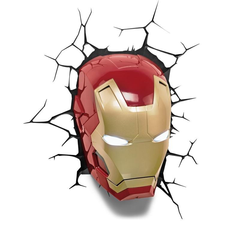 Iron Man - Avengers - 3D Deko Licht