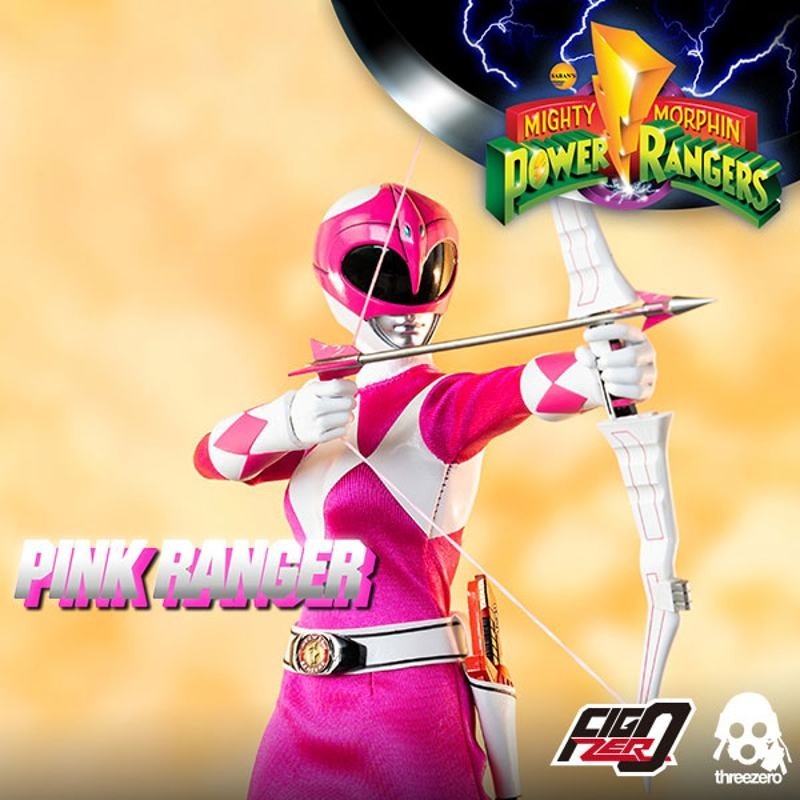 Pink Ranger - Mighty Morphin Power Rangers - 1/6 Scale Figur