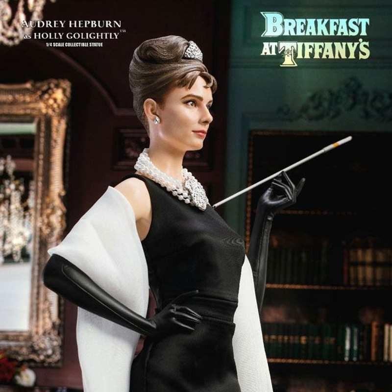 Holly Golightly (Audrey Hepburn) Deluxe Version - Frühstück bei Tiffany - 1/4 Scale Statue