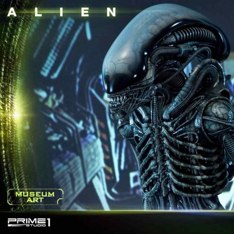"Alien Big Chap ""Museum Art"" - Alien - 3D Wand Art Statue"
