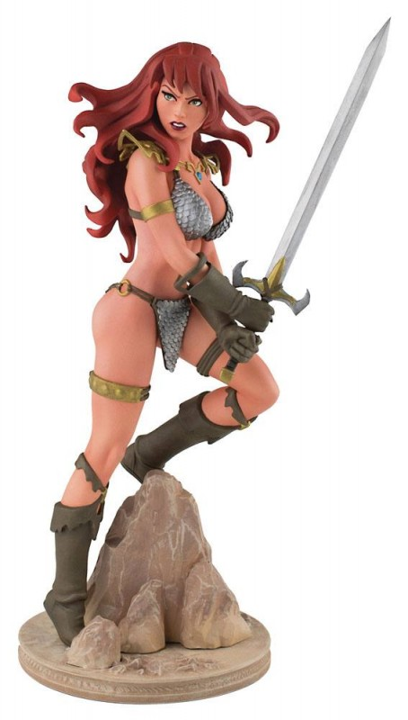 Red Sonja by Amanda Conner - Red Sonja - Resin Statue