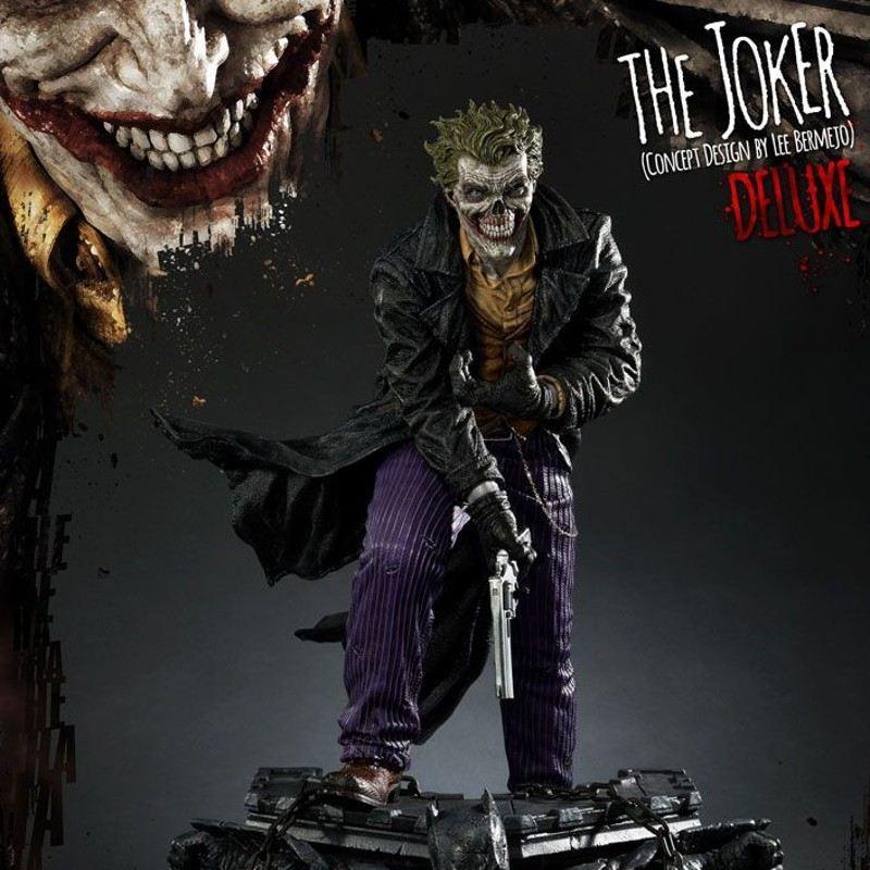 The Joker by Lee Bermejo Deluxe Version - DC Comics - 1/3 Scale Statue