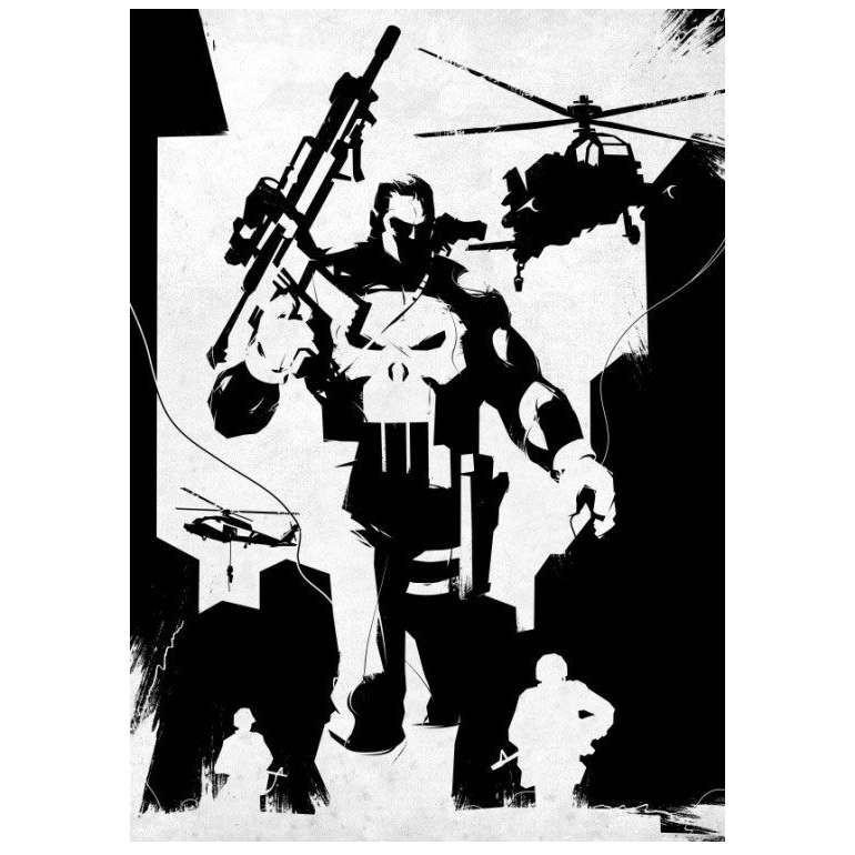 Frank Castle - Marvel Comics - Metall-Poster