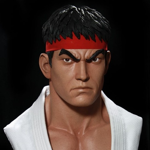 Ryu - Street Fighter - 1/1 Scale Bust