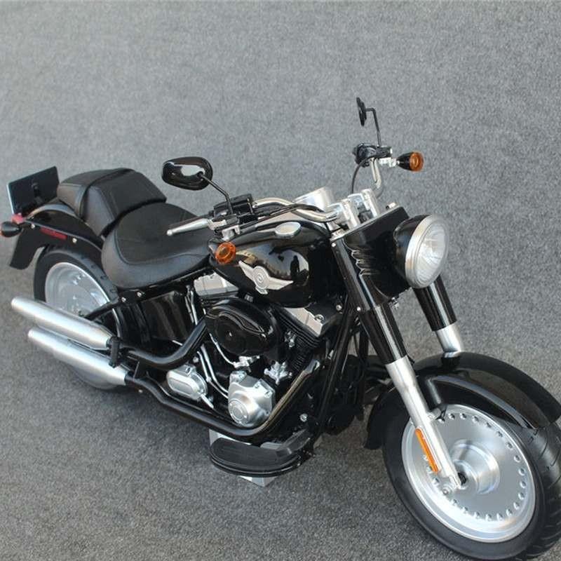 Motorcycle in Black - 1/6 Scale Fahrzeug
