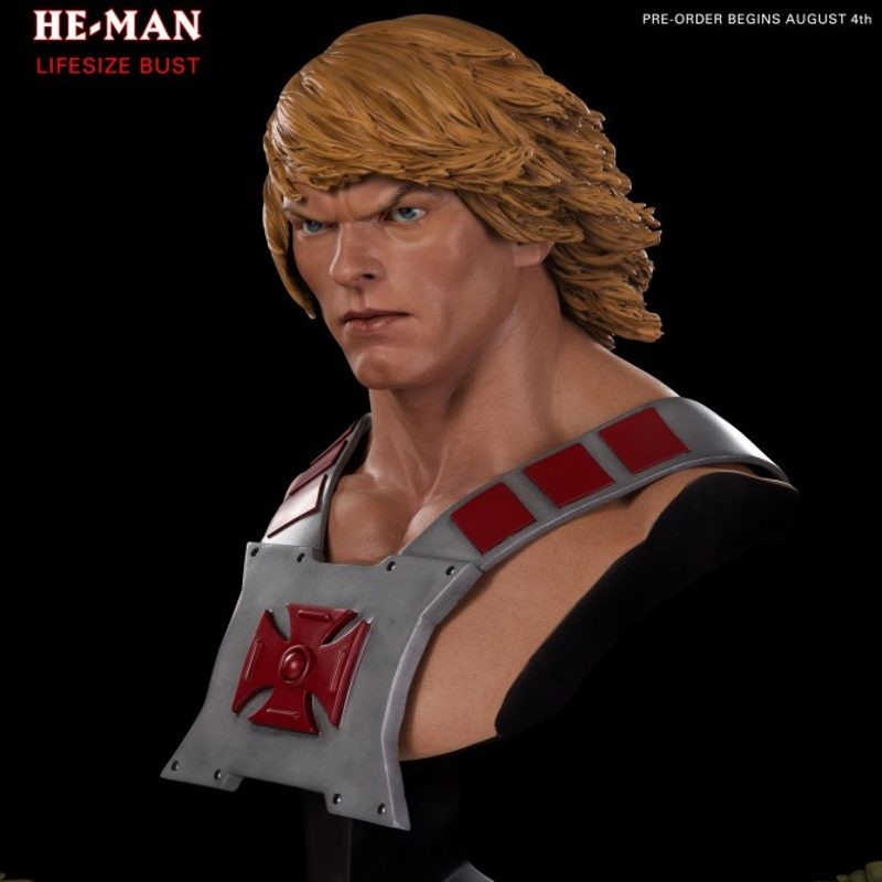 He-Man - Master of the Universe - 1:1 Bust