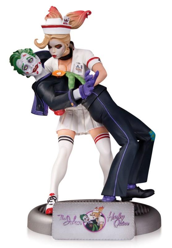 The Joker & Harley Quinn - Bombshells Statue 25cm
