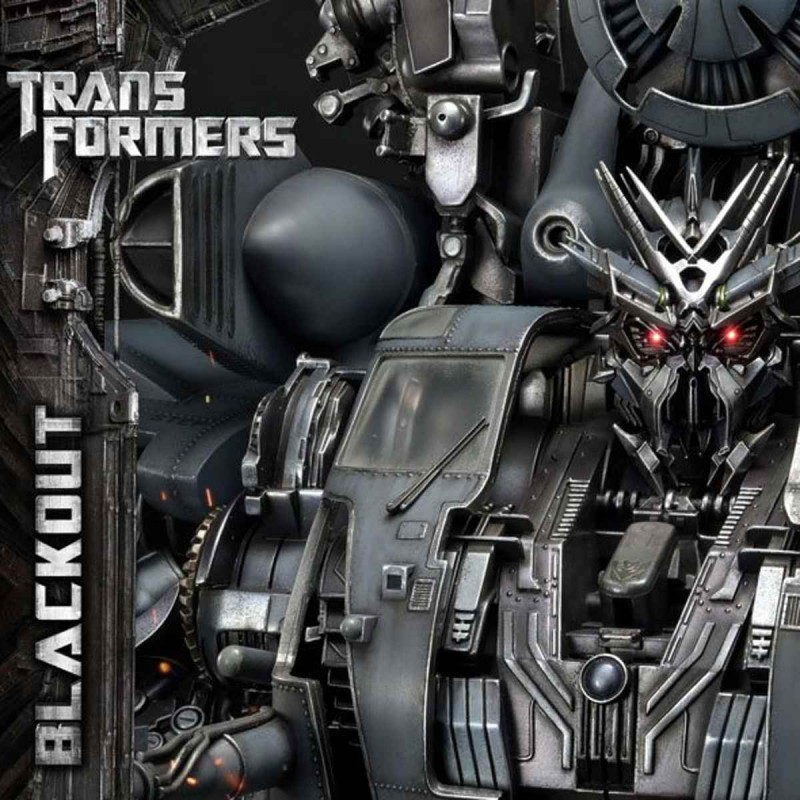 Blackout - Transformers - Polystone Statue