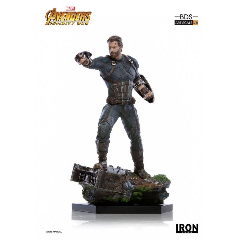 Captain America - Avengers Infinity War - BDS Art 1/10 Scale Statue