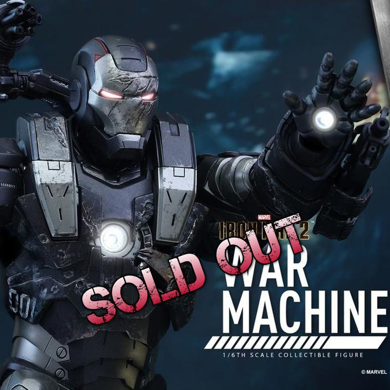 War Machine - Iron Man 2 - Diecast 1/6 Scale Figure
