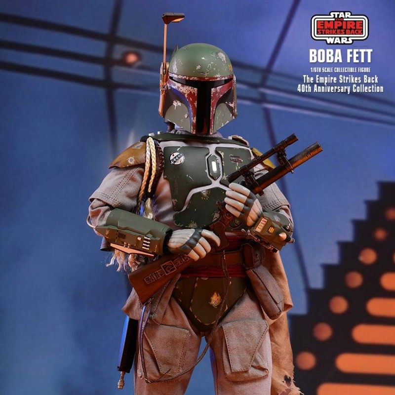 Boba Fett 40th Anniversary Collection - Star Wars Episode V - 1/6 Scale Figur
