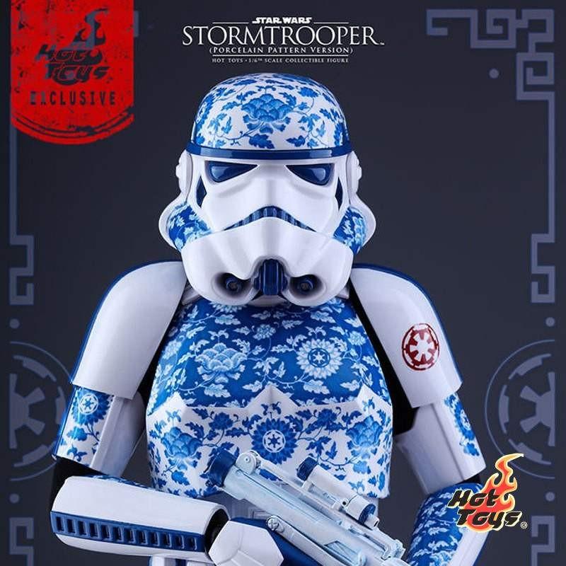 Stormtrooper (Porcelain Pattern Version) - Star Wars - 1/6 Scale Figur