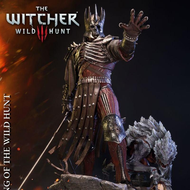 Eredin - Witcher 3 Wild Hunt - 1/4 Scale Polystone Statue