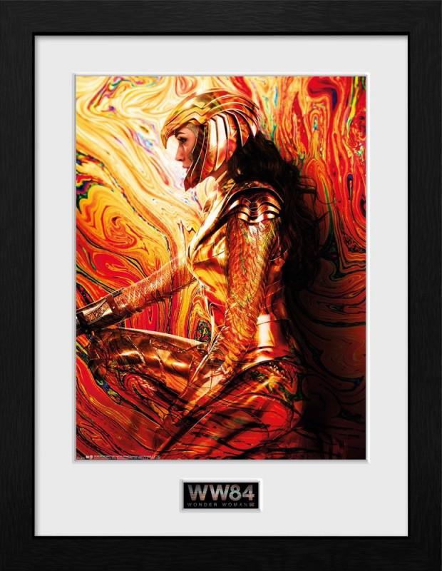 One Sheet - Wonder Woman 1984 - Poster im Rahmen