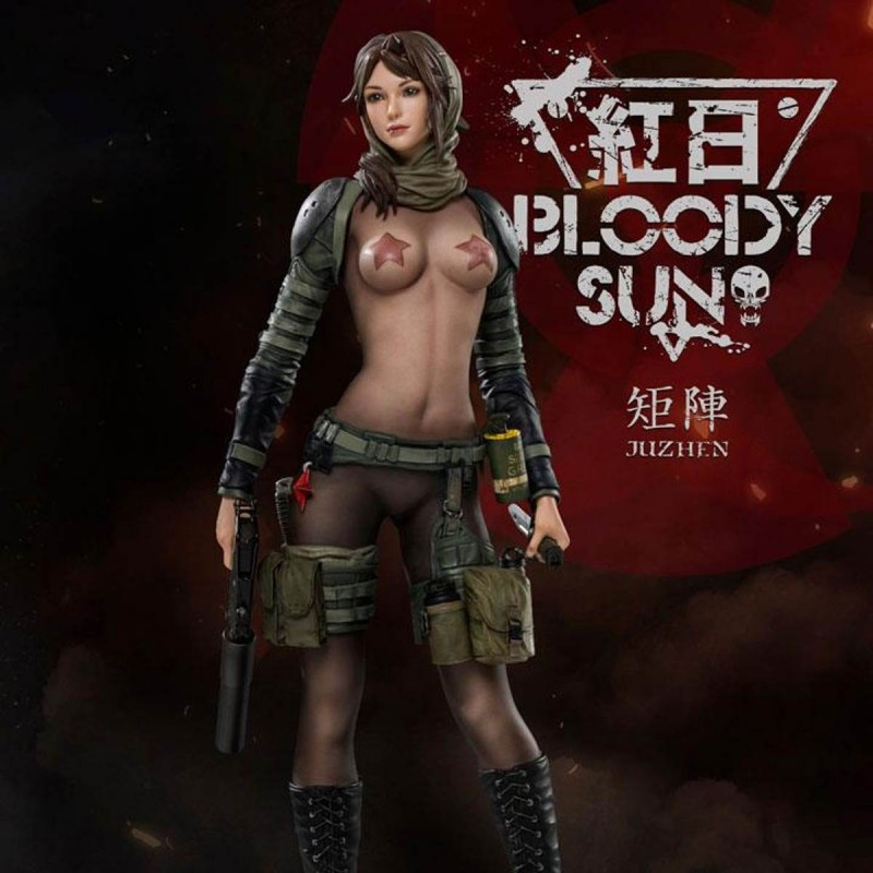 Dum by Ju Zhen - Bloody Sun - 1/6 Scale Statue