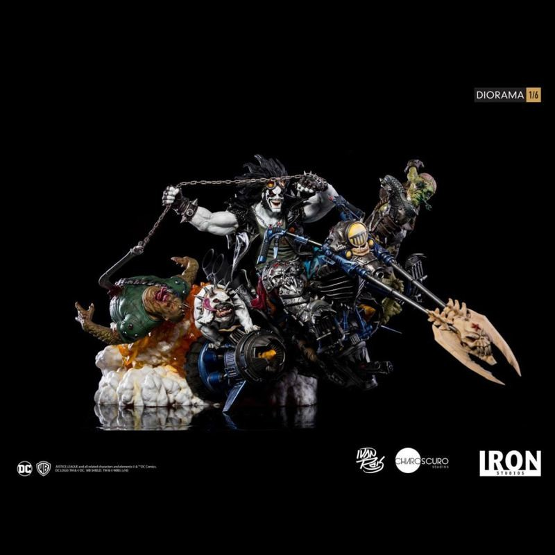 Lobo by Ivan Reis - DC Comics - 1/6 Scale Diorama