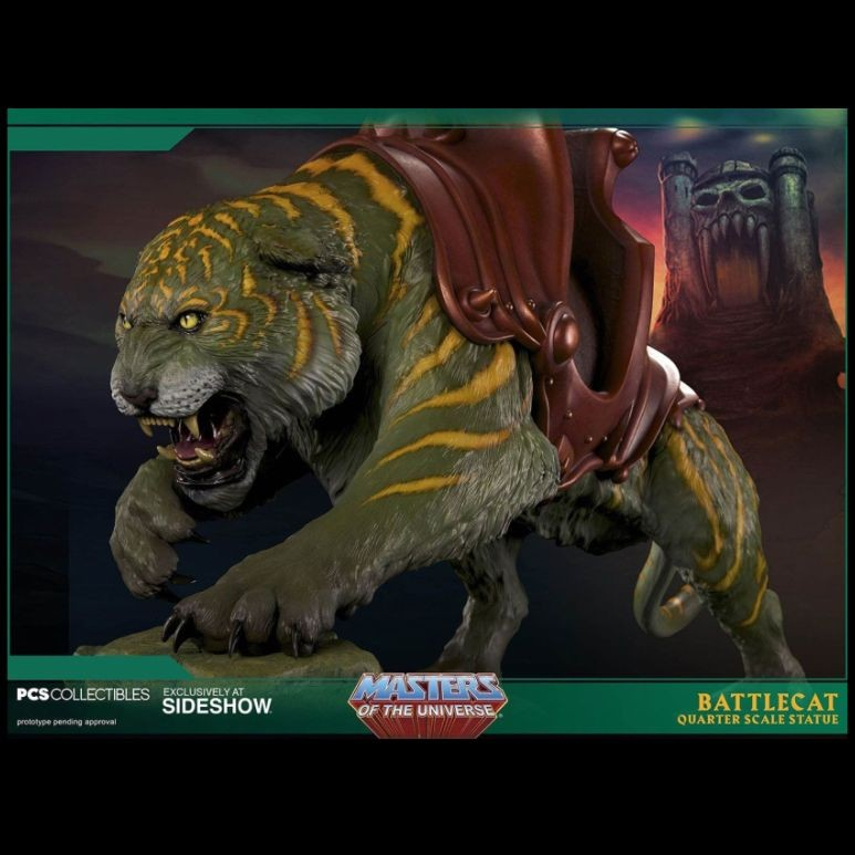Battlecat - Master of the Universe - 1/4 Scale Statue
